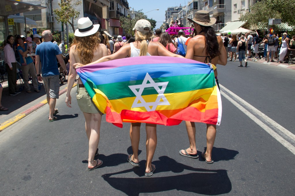 Gay Pride Parade, Tel Aviv, 2012. Photo: TIP/Noam Moskovich