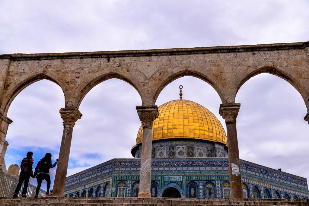The Temple Mount. Photo: Aviram Valdman/The Tower