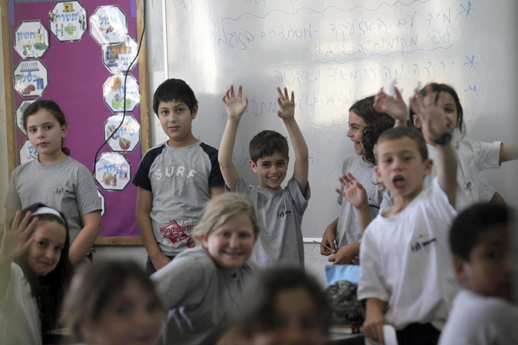 A nation of immigrants has to encourage tolerance. An Israeli school in Jerusalem. Photo: Yossi Zamir/Flash90