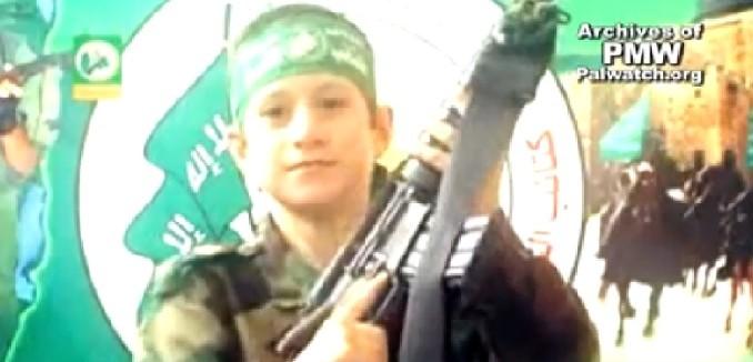 child soldier hamas