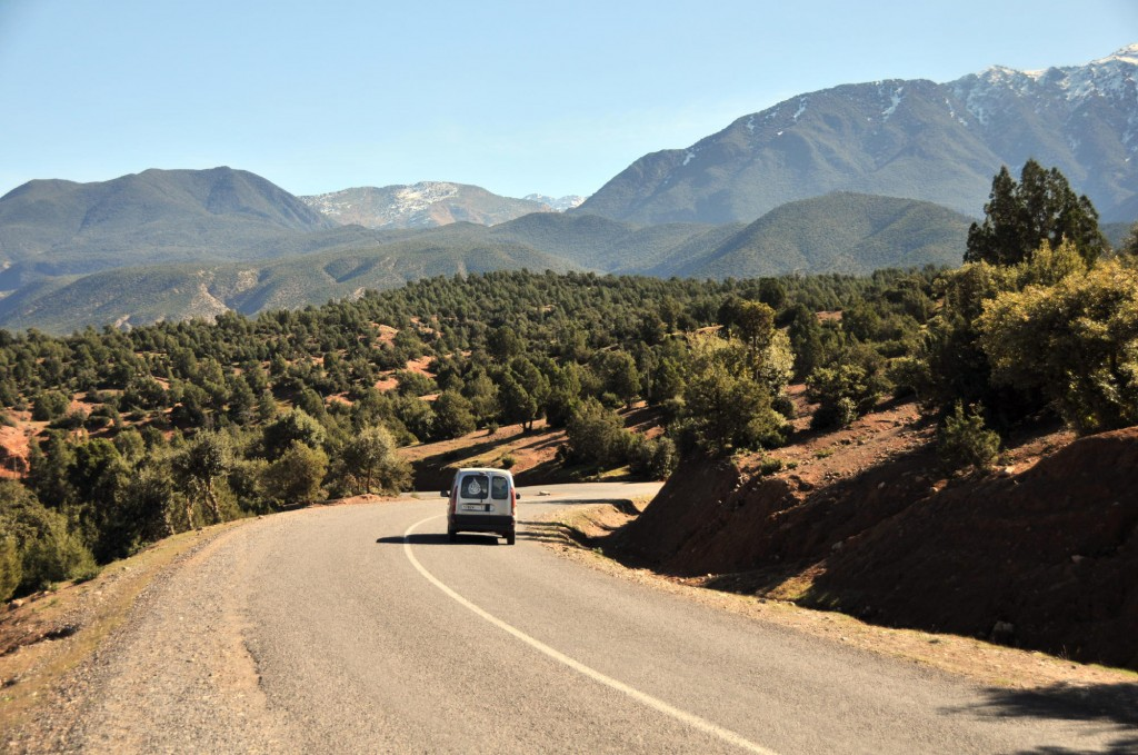 A drive through the Atlas Mountains. Photo: Michael J. Totten