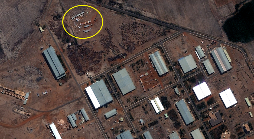 Yarmouk base at Khartoum, before the explosion on October 2012. Photo: Project ENOUGH / flickr
