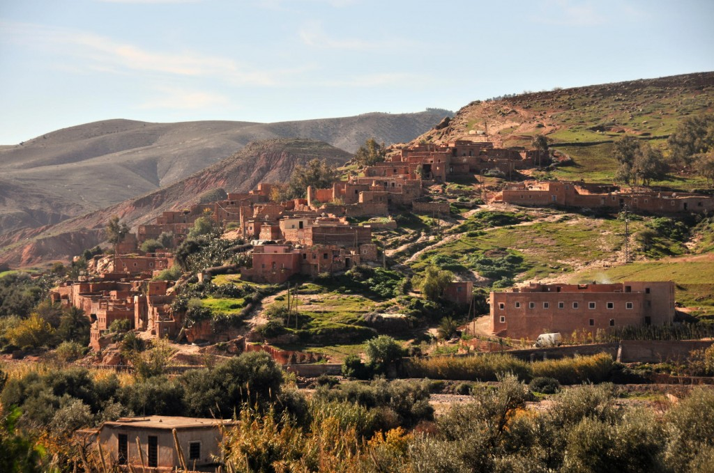 Moroccan village. Photo: Michael Totten