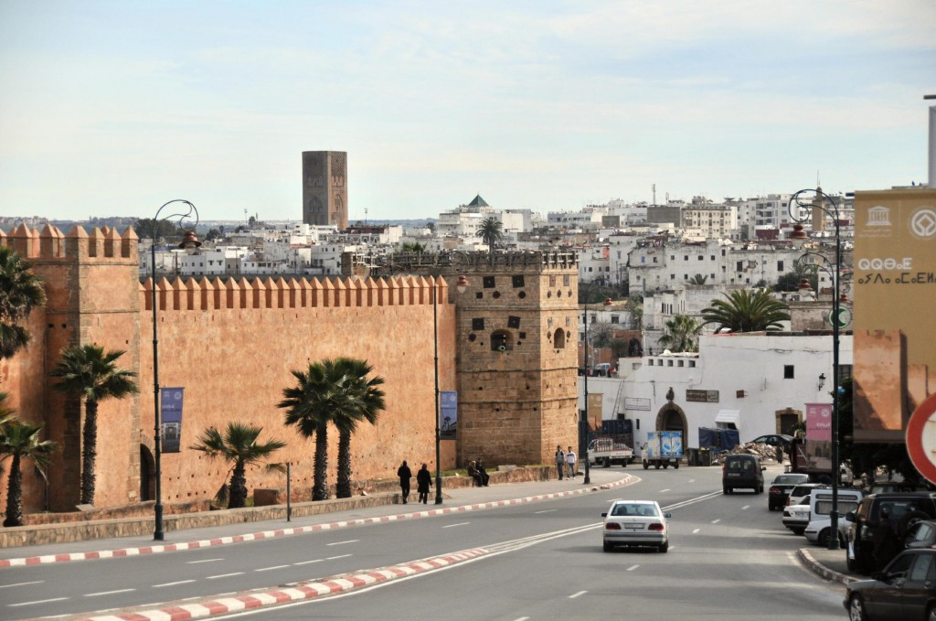 Rabat's City Walls. Photo: Michael J. Totten