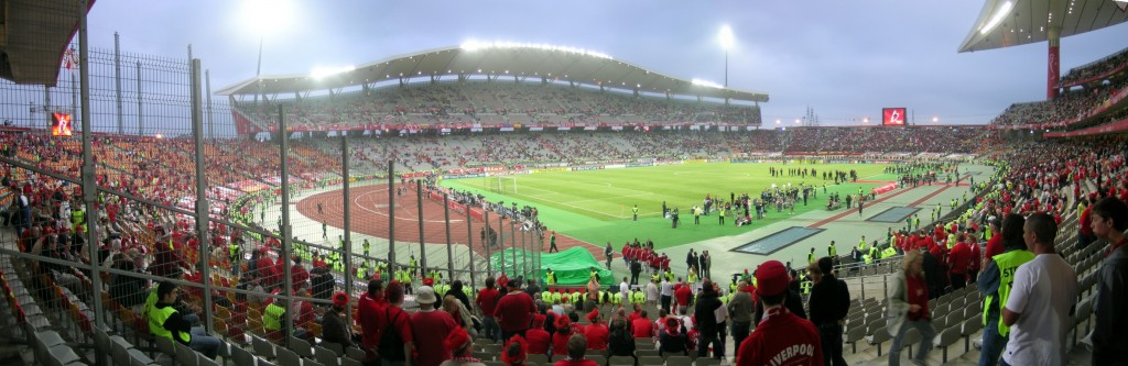 Ataturk Olympic Stadium hosted the finals of the 2007 Champions League Tournament. Photo: Stephen Chipp / flickr