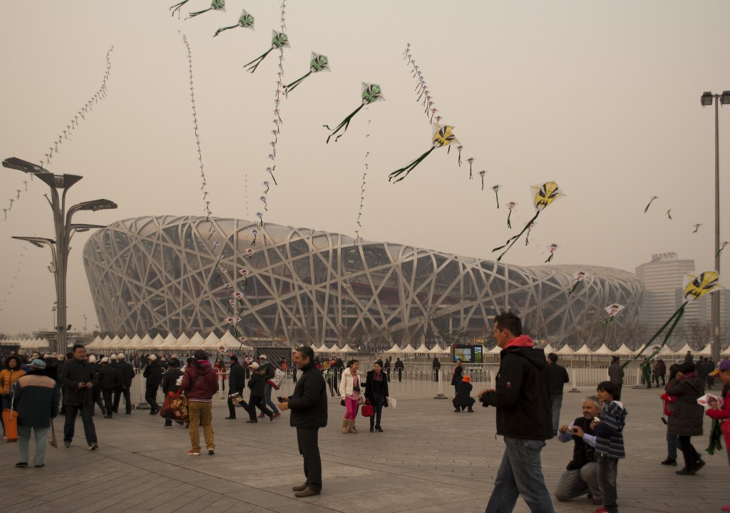 The famous Bird's Nest from the Beijing Olympics now sits unused. Photo: Phaga / flickr