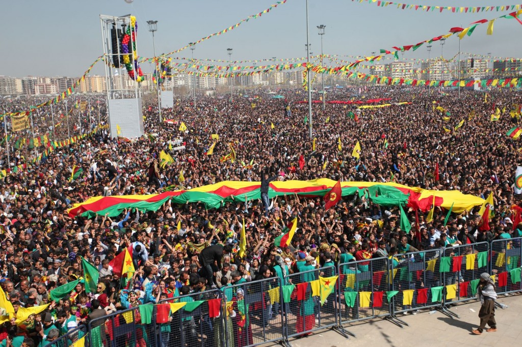 Kurds in Turkey celebrate their holiday of Newroz. Photo: homeros / 123rf