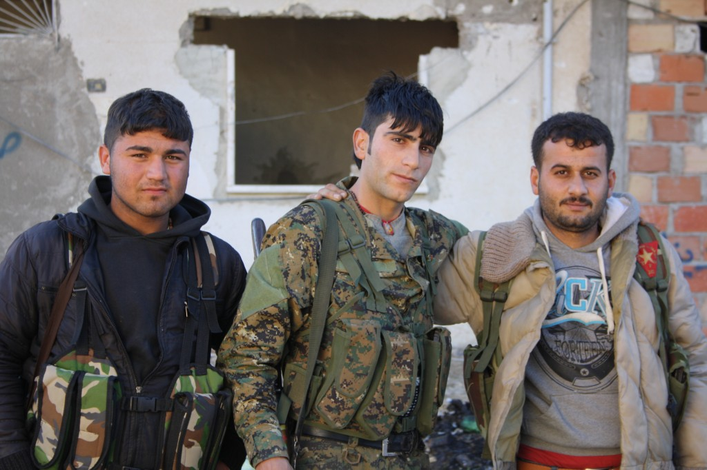 Kurdish fighters in Syria. Photo: Jonathan Spyer