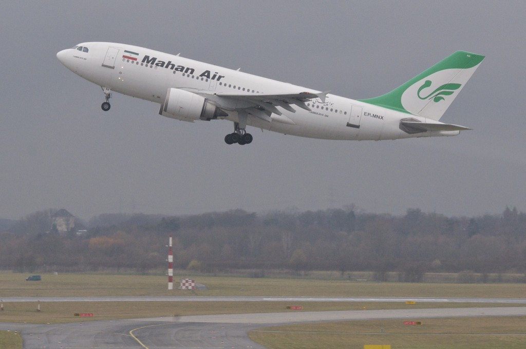 The Iranian airline Mahan has been slapped with US sanctions. Photo: Aero Icarus / flickr