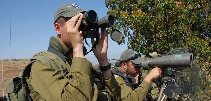IDF Prepares Along Syrian Border