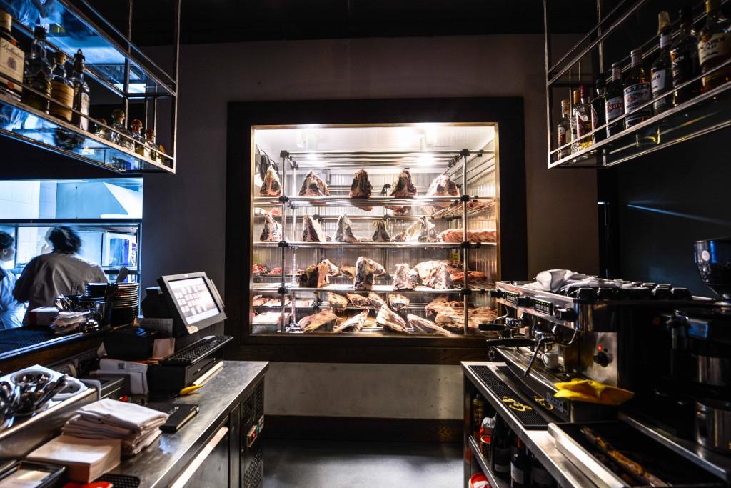 Shine and Sharp is one of Tel-Aviv's hottest upscale steakhouses. Photo: Aviram Valdman / The Tower