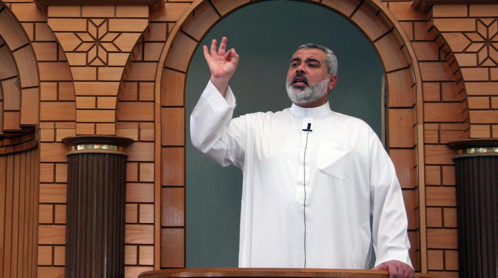 Chairman of Hamas in the Gaza Strip, Ismail Haniyeh. Photo: Abed Rahim Khatib / Flash90