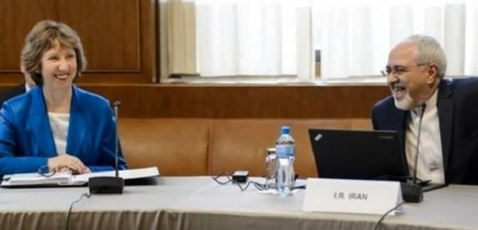 Ashton and Zarif in Geneva