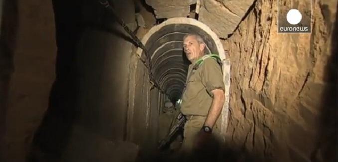 Hamas terror tunnel