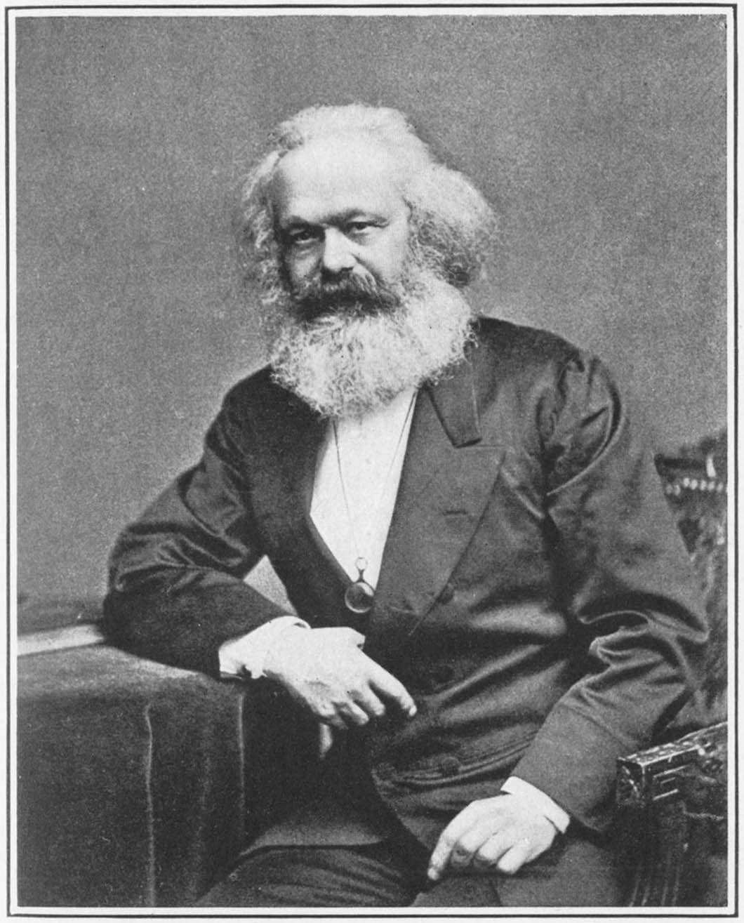 Karl Marx. Photo: Wikimedia