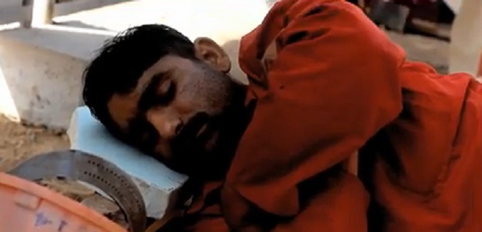 Qatari migrant worker