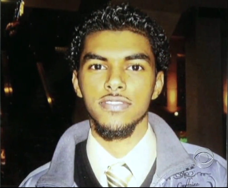 The last known photo of Jamal Bana, an engineering student who joined al-Shabab and died in Somalia. Photo: CBSNewsOnline / YouTube