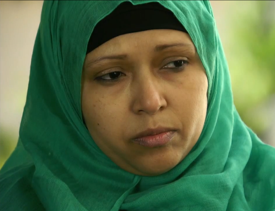Abayte Ahmed, Jamal Bana's mother. Photo: CBSNewsOnline / YouTube