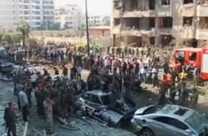 Twin suicide bombs in Beirut