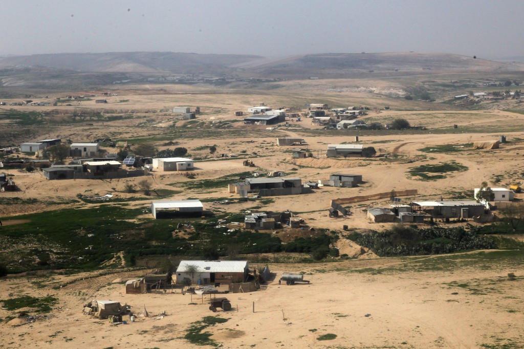 Bedouin village in the Negev. Photo: Nati Shohat / Flash90