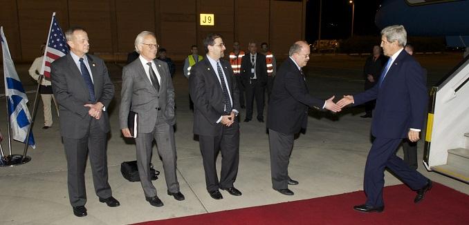 Kerry arrives in Israel