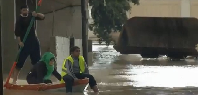 gaza flooding