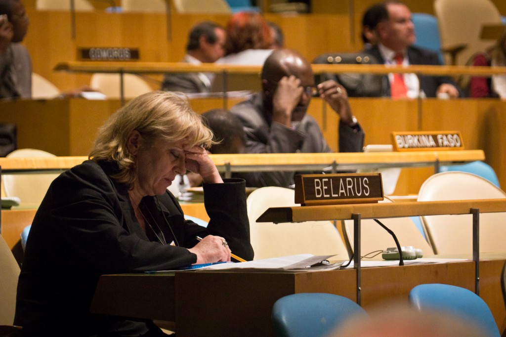 Belarus and Burkina Faso have just as much power as the U.S. in the UN General Assembly. Photo: John Gillespie / flickr
