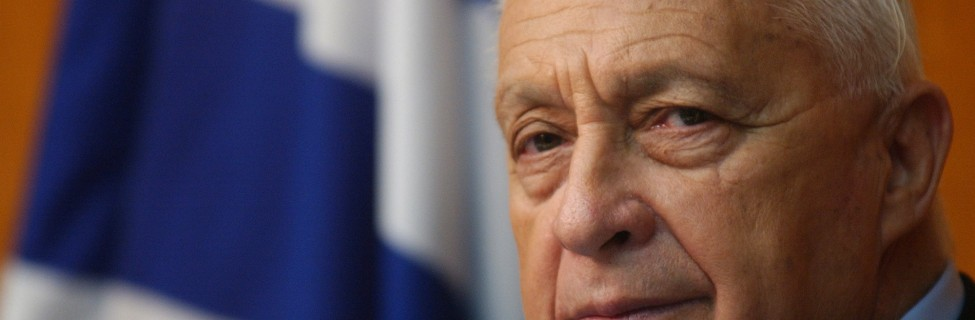 Ariel Sharon participates in a committee meeting in the Knesset, June 29, 2004. Photo: Sharon Perry / Flash90.