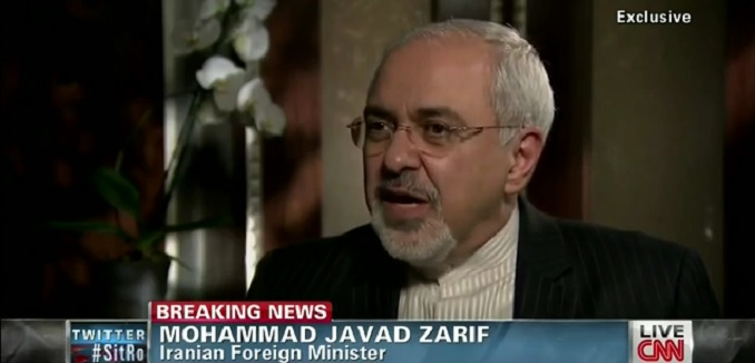 Zarif denies White House reports