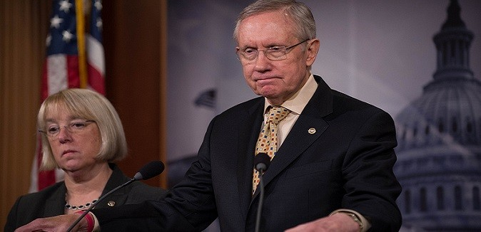 harry reid podium