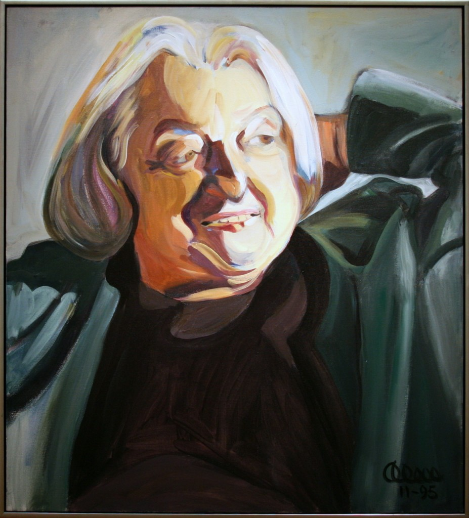Betty Friedan, by Alice Matzkin. Photo: cliff1066/flickr