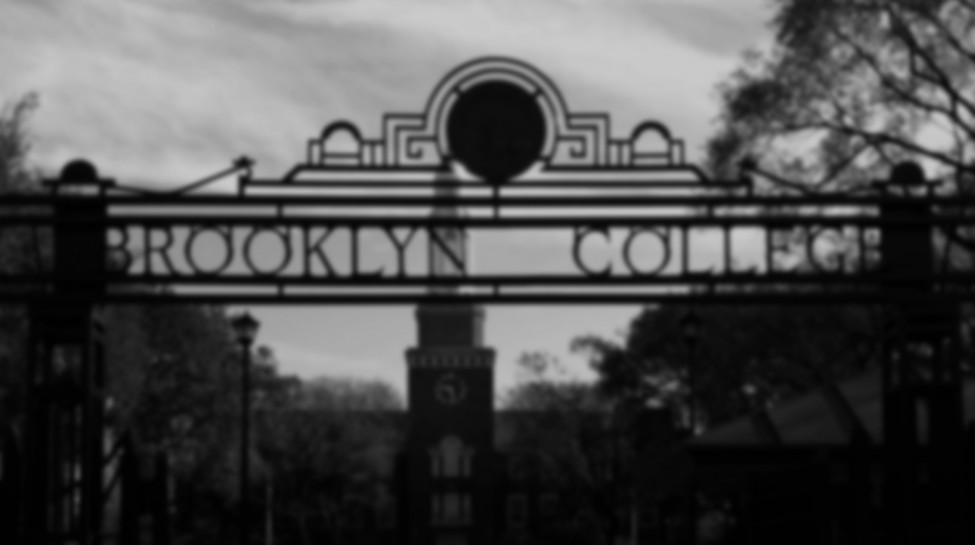 Brooklyn-College-Gate-crop BW blur2