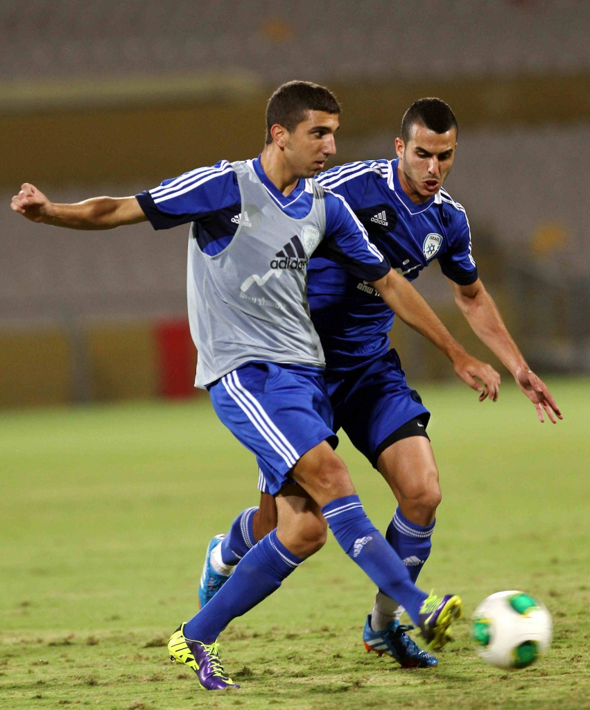 Israel U-21 national football team includes Jewish and Arab players. Photo: Oded Karni/Israel Football Association Website/Flash90