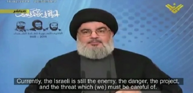 Nasrallah threatens Israel