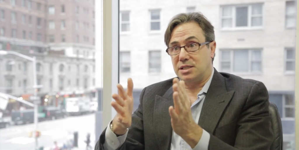 Steven Schoenfeld, Chief Investment Officer of BlueStar Global Investors. Photo: John Lothian News / YouTube