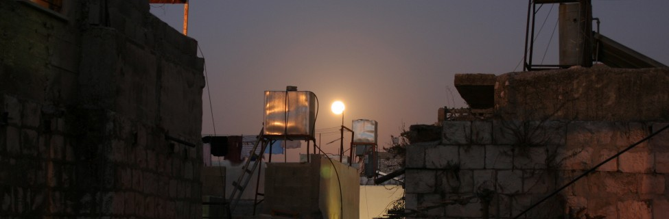 Water tanks in the Old City of Nablus. Photo: Michael Loadenthal / flickr