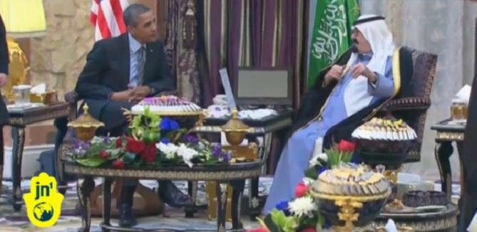 obama meets abdullah