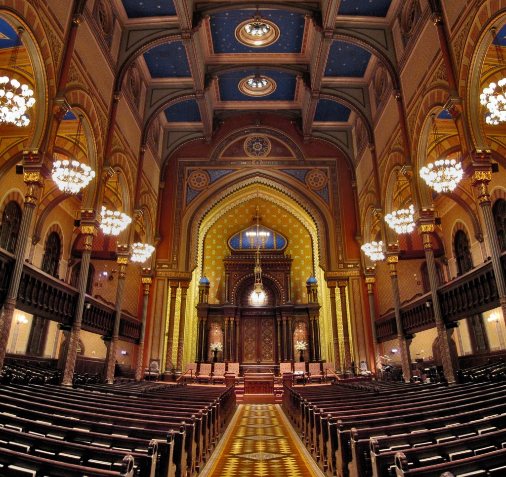The Central Synagogue, a Reform congregation in New York City, is one of the oldest synagogue buildings still standing in the U.S. Photo: Supportstorm / Wikimedia