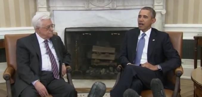 Obama tells Abbas