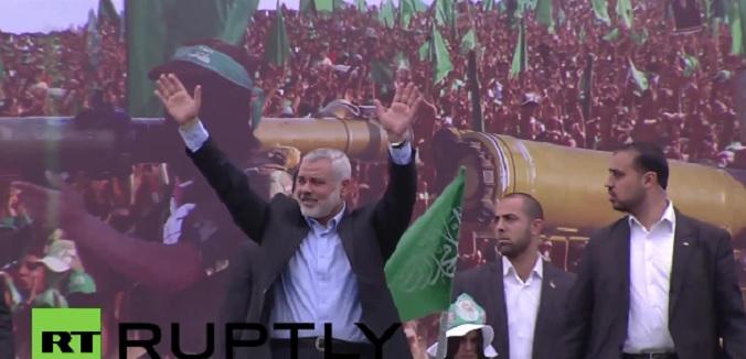 haniyeh crowd
