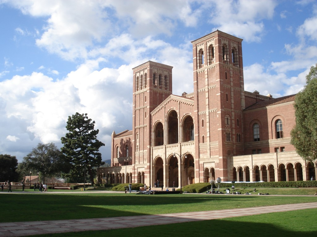 Royce Hall, one of the four original buildings on UCLA's Westwood campus. Photo: Alton / Wikimedia