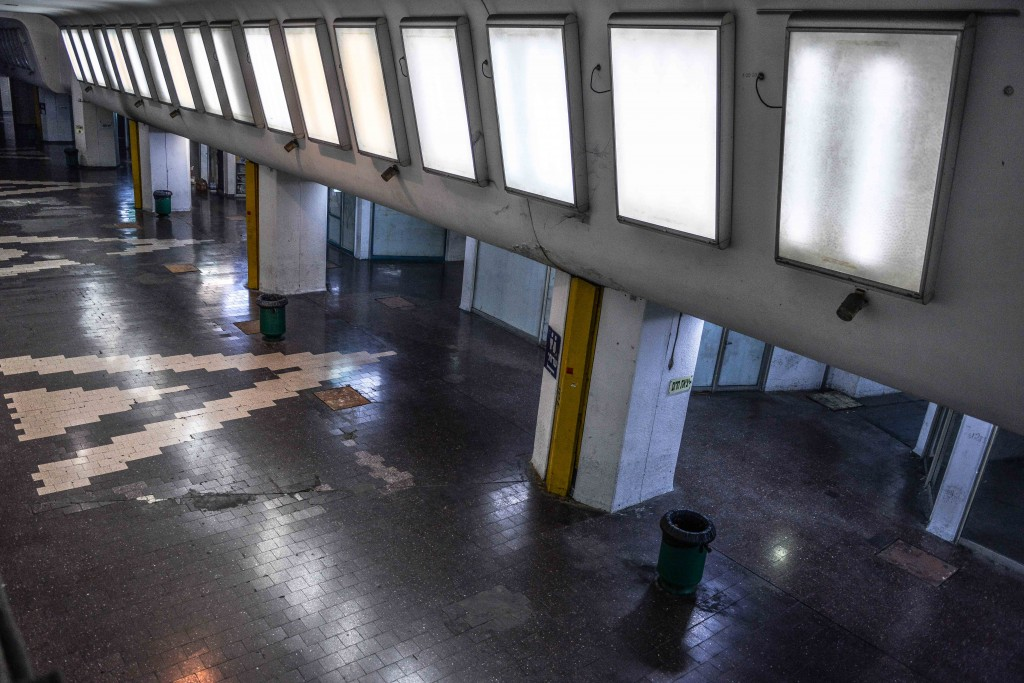 Inside the Tel Aviv Central Bus Station. Photo: Aviram Valdman / The Tower