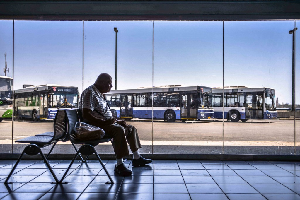 5,000 buses come through the Tel Aviv Central Bus Station every day. Photo: Aviram Valdman / The Tower