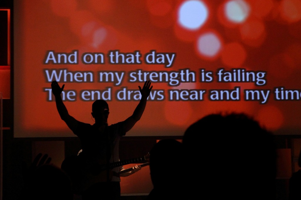 A service at Willow Creek Community Church. Photo: Tom D'Angelo / flickr