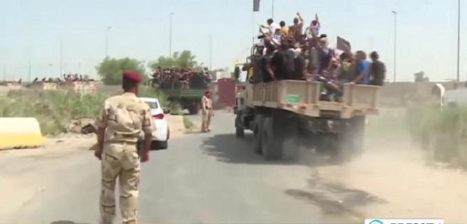 hezbollah trucks