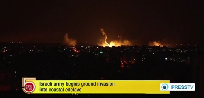 gaza invasion