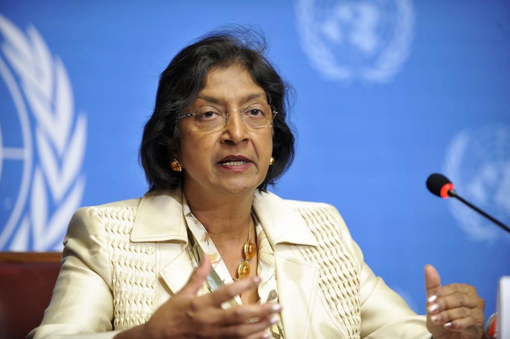 Navi Pillay, United Nations High Commissioner for Human Rights. Photo: Africa Renewal / flickr