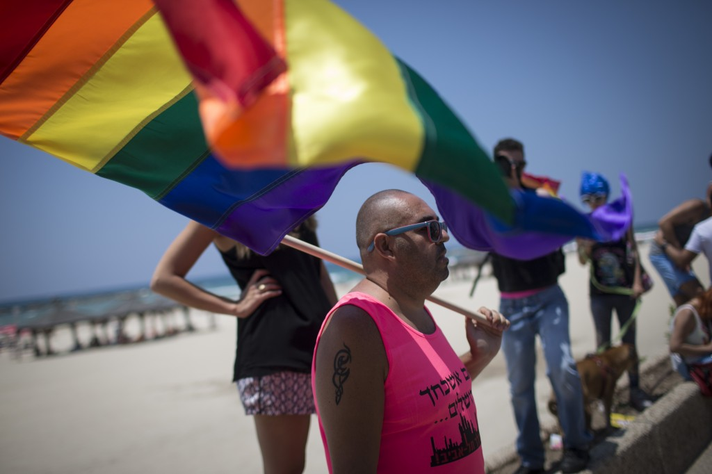 The 2014 Tel Aviv Gay Pride Parade marked a record attendance of 150,000 people from Israel and abroad. Photo: Hadas Parush / Flash90