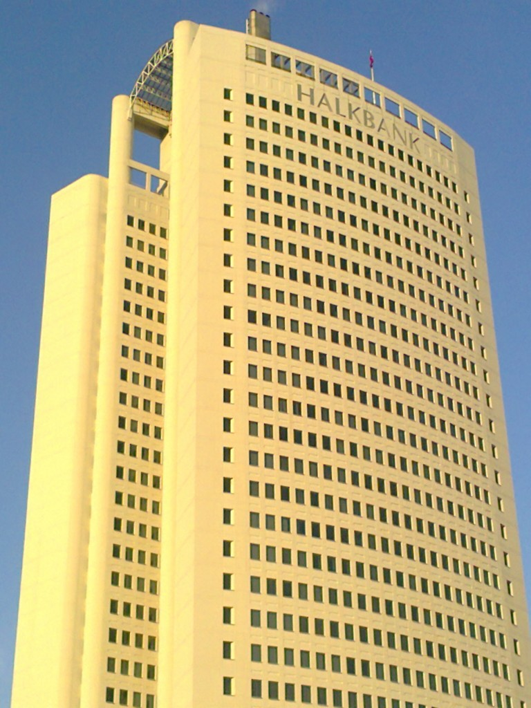The headquarters of Halkbank in Ankara. The state-owned bank has helped Iran circumvent sanctions. Photo: Vikiçizer / Wikimedia