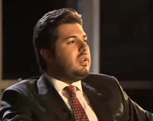 Iranian-Azeri businessman Reza Zarrab is accused of giving hundreds of thousands of dollars worth of gifts to Turkish government officials, and using their connections to transfer billions of dollars of gold to Iran. Photo: Channel Kaktus / YouTube